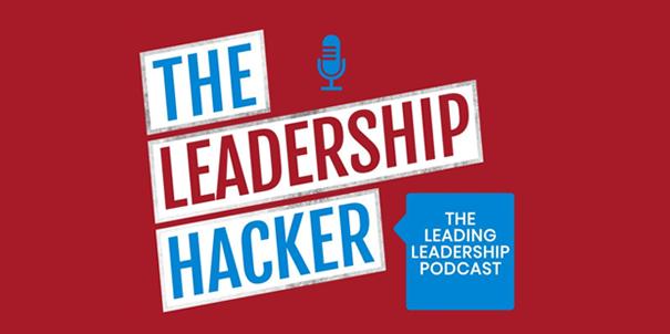 Banner for the Leadership Hacker podcast