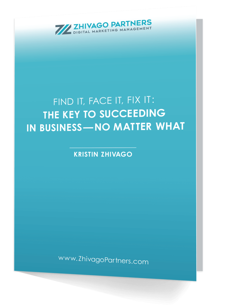 find it face it fix it the key to succeed in business