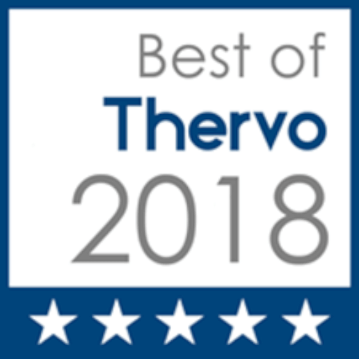Icon for best of thervo 2018 award