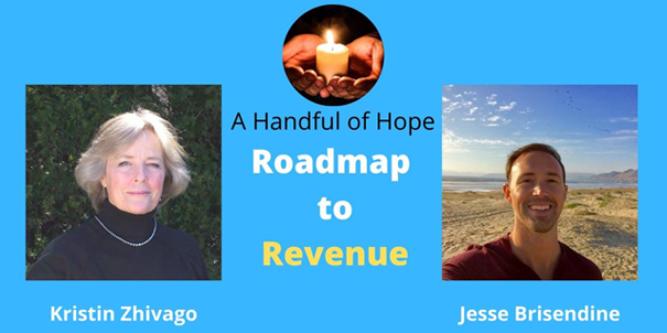 Banner for Handful of Hope Kristin Zhivago interviewed by Jesse Brisendine
