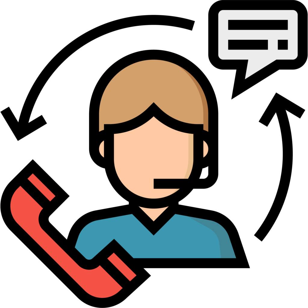 Icon representing a client success manager